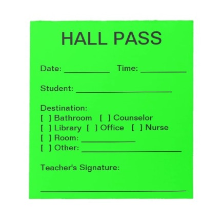 hall_pass_pad_neon_green_note_pads-rbbd3fa2bdcac405cb17a03e9b741fb91_amb08_8byvr_512.jpg-Hall Pass